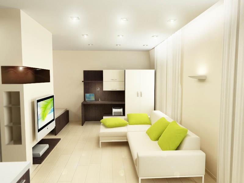 Дизайн однокомнатной квартиры стоимость 166